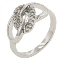 Sparkling Unity Ring