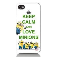 Despicable Me Keep Calm Love Minions iPhone 4 by missaccessories