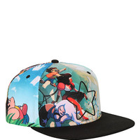 Steven Universe Star Allover Sublimation Snapback Hat