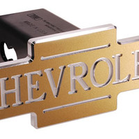 Chevrolet Inscribed Bowtie Tow Hitch Cover-Chevy Mall