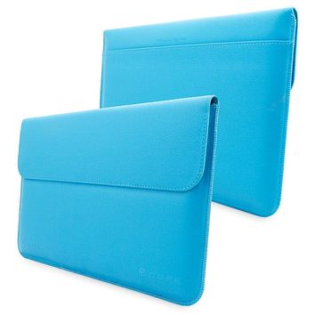 Snugg Leather Sleeve Case for Microsoft Surface Pro Cyan