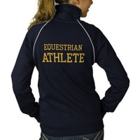 Equestrian Athlete Embroidered Jacket from Zazzle.com