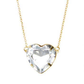 Heart Gem Necklace