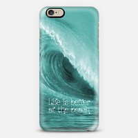 Better at the Beach iPhone 6 case by Alice Gosling | Casetify