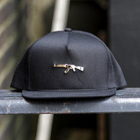 Defend Paris - Gold AK Hat - Black