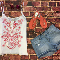 Blaze the Trail Tank: Coral
