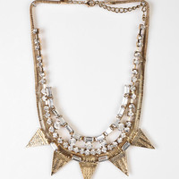 Snow Queen Bib Necklace - Urban Outfitters