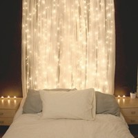IKEA LILLSheer curtains 1 pair white essential for your fairy light bedroom