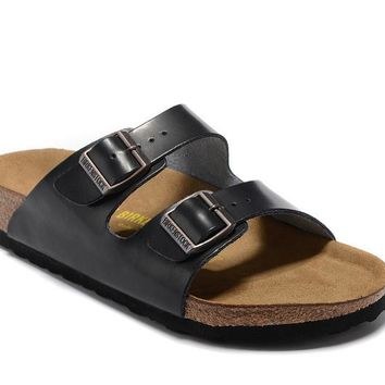 Men's and Women's BIRKENSTOCK sandals Arizona Birko-Flor 632632288-074
