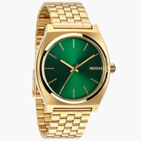 Nixon The Time Teller Watch Gold/Gren Sunray One Size For Men 24408262101