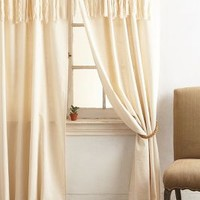 Knotted Macrame Curtain by Anthropologie