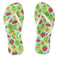 Kawaii Fruits - Flip Flops