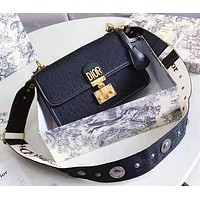 DIOR Hot Sale Women Shopping Bag Leather Shoulder Bag Crossbody Satchel
