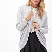 LOVE 21 Metallic Knit Dolman Cardigan