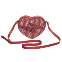 Little Marc Jacobs Girls Red Heart Shoulder Bag