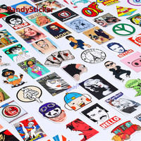 100 Random Mixed Hot sale Home Decor Laptop Sticker For Motorcycle Skateboard Doodle Toy Style Funny Stickers