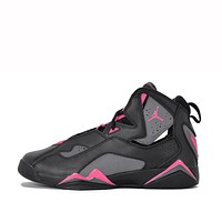 JORDAN TRUE FLIGHT (GG) - BLACK / DEADLY PINK