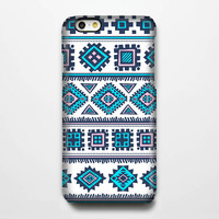 Ethnic Aztec Blue iPhone 6 Plus 6 5S 5C 5 4 Protective Case #104