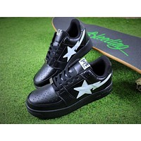 Bape Sta Sneakers Black White Shoes