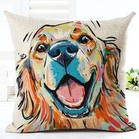 Cute Pet Series - Abstract Dog Pillow Covers (16 styles)