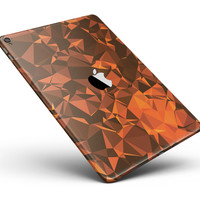 "Orange Abstract Geometric Triangles Full Body Skin for the iPad Pro (12.9"" or 9.7"" available)"