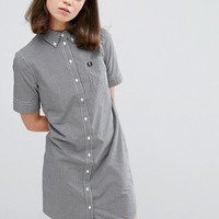Fred Perry Authentic Gingham Shirt Dress at asos.com