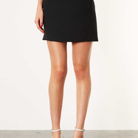 Quilted Seam Skirt - Skirts - Clothing - Topshop USA