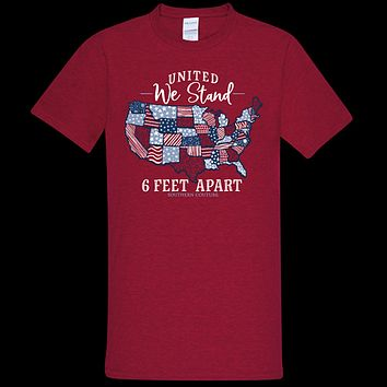 Southern Couture Soft Collection USA United We Stand T-Shirt