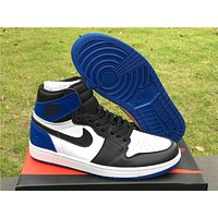Air Jordan 1 X Fragment Design Basketball Shoes 41 46