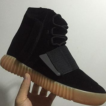 Trendsetter  Adidas Yeezy Boost 750  Women Men Casual Socks Shoes