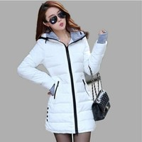 Long Style Women Jacket Fashion Slim Warmth Winter Down Coat [8833588492]