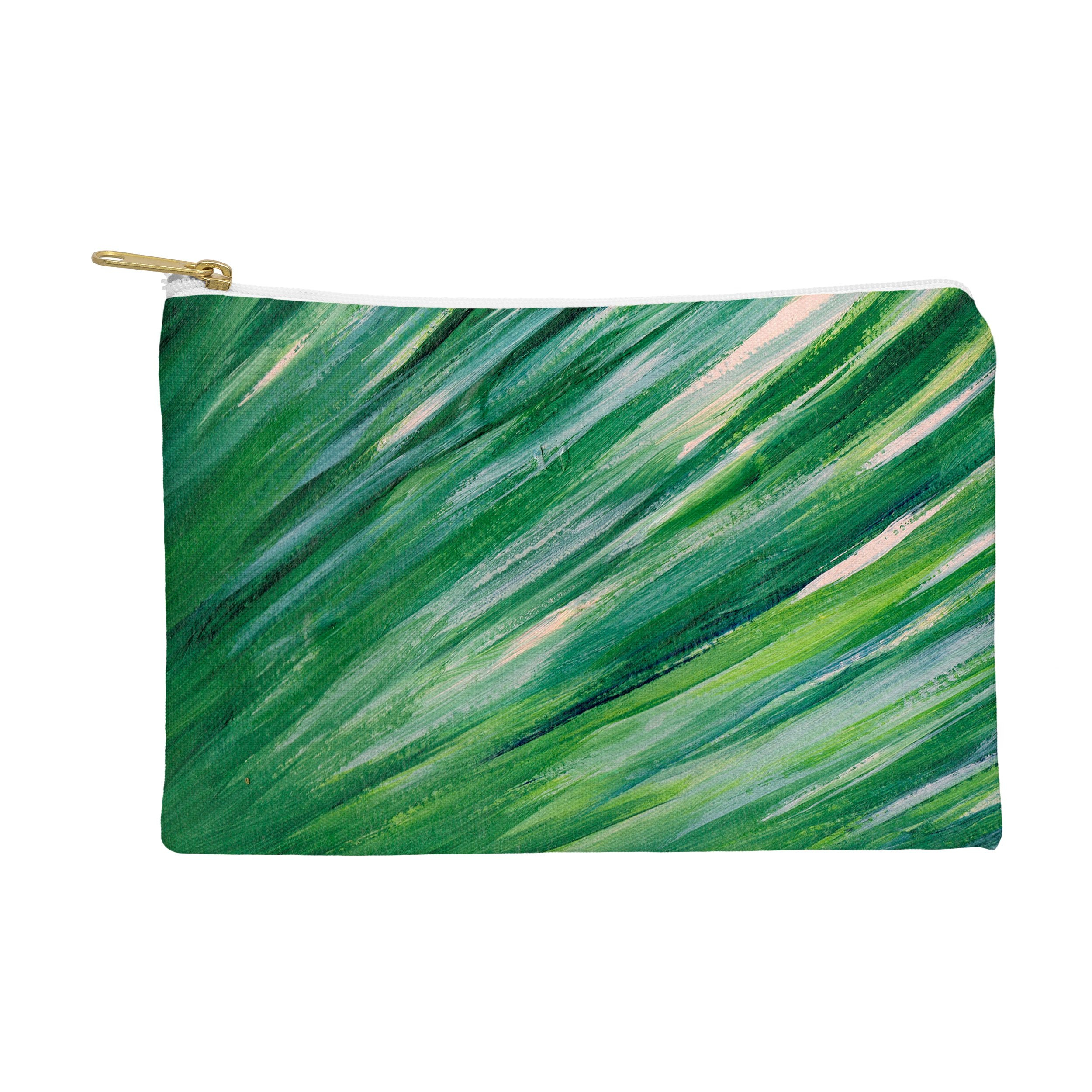 Image of Rosie Brown Blades Of Grass Pouch