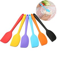 Baking Tools For Cakes Double Silicone Spatula Spoon Cookie Spatulas Pastry Scraper Mixer Buttter Ice Cream Scoop large and smal