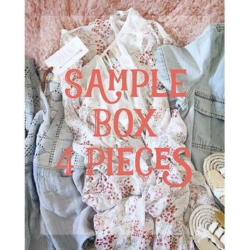 Summer Sample Box ~4 Pieces
