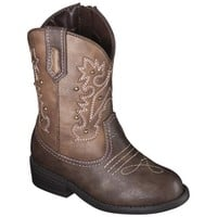 Toddler Girl's Cherokee® Darcy Cowboy Boots - Brown