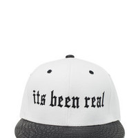 Its Been Real Hat / White
