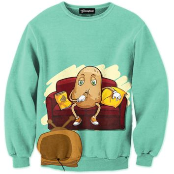 Couch Potato Crewneck