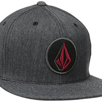 Volcom Men's Fusion Jfit Hat, Black, Small/Medium