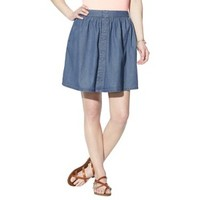 Mossimo Supply Co. Juniors Denim Button Down Skirt - Assorted Colors