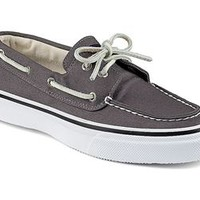Sperry Top-Sider Mens Canvas Bahama Boat Shoe in Varsity Grey STS10648