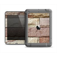 The Mixed Color Stone Wall V3 Apple iPad Air LifeProof Fre Case Skin Set