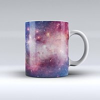 The Vibrant Space ink-Fuzed Ceramic Coffee Mug