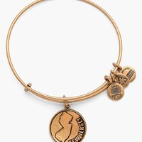 Women's Alex and Ani 'New Jersey' Expandable Wire Bangle - Russian
