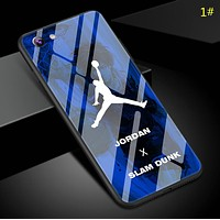 Jordan& Off White New fashion people shoes print couple protective cover phone case 1#