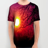I Will Raise You Up All Over Print Shirt by Faded  Photos
