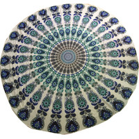 150cm printed Round Beach Pool Home Shower Towel Blanket Table Cloth Yoga Mat Large Beach Towels For Adults Print Toalha De