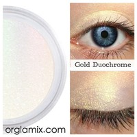 Gold Duochrome Eyeshadow Effects