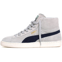 Suede Mid Classic + Sneakers Grey / Violet-Peacoat