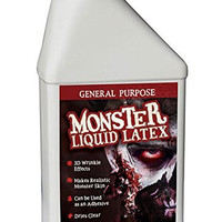 Monster Liquid Latex - 16oz Pint - Creates Monster / Zombie Skin and FX