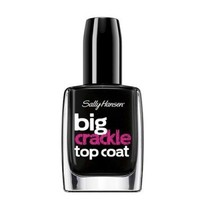 Buy Sally Hansen Big Crackle Top Coat Nail Polish Black On Online in Canada | Free Shipping